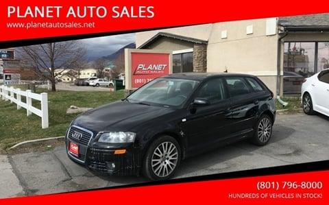 2008 Audi A3 for sale at PLANET AUTO SALES in Lindon UT
