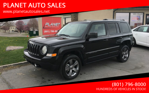 2017 Jeep Patriot for sale at PLANET AUTO SALES in Lindon UT