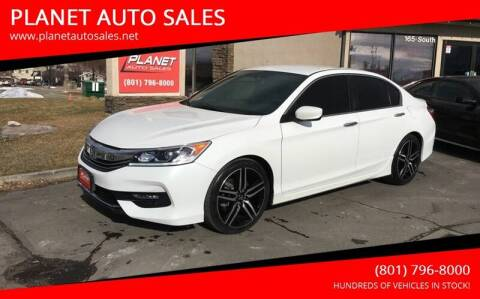 2017 Honda Accord for sale at PLANET AUTO SALES in Lindon UT
