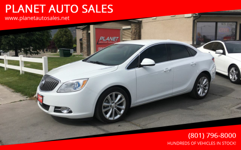 2016 Buick Verano for sale at PLANET AUTO SALES in Lindon UT