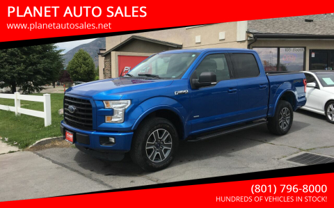2016 Ford F-150 for sale at PLANET AUTO SALES in Lindon UT