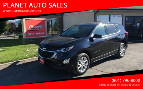 2020 Chevrolet Equinox for sale at PLANET AUTO SALES in Lindon UT
