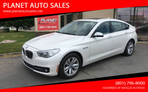 2015 BMW 5 Series for sale at PLANET AUTO SALES in Lindon UT