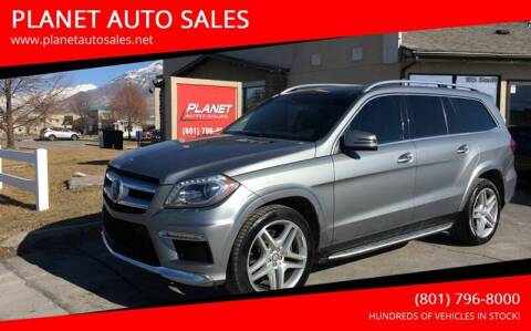 2016 Mercedes-Benz GL-Class for sale at PLANET AUTO SALES in Lindon UT