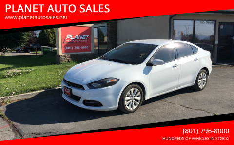 2014 Dodge Dart for sale at PLANET AUTO SALES in Lindon UT