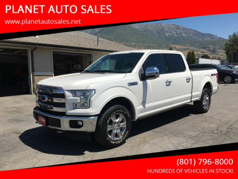 2017 Ford F-150 for sale at PLANET AUTO SALES in Lindon UT