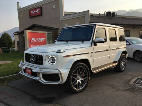 2020 Mercedes-Benz G-Class for sale at PLANET AUTO SALES in Lindon UT