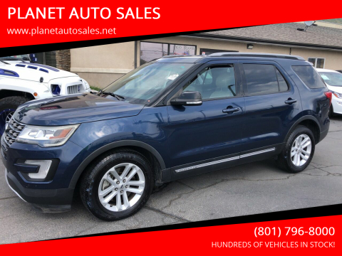 2016 Ford Explorer for sale at PLANET AUTO SALES in Lindon UT
