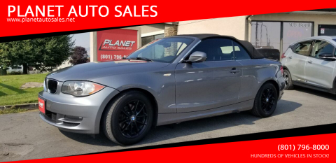 2011 BMW 1 Series for sale at PLANET AUTO SALES in Lindon UT