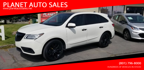 2016 Acura MDX for sale at PLANET AUTO SALES in Lindon UT