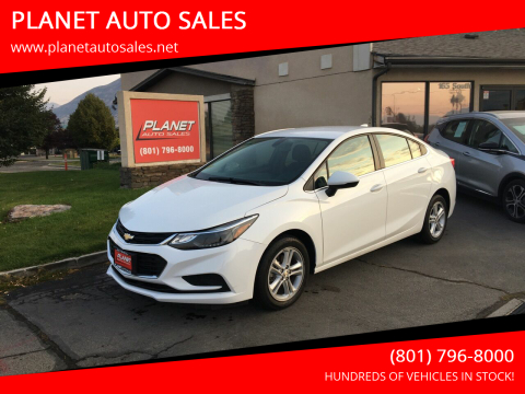 2017 Chevrolet Cruze for sale at PLANET AUTO SALES in Lindon UT