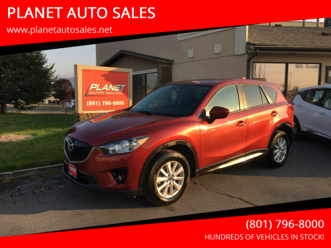2013 Mazda CX-5 for sale at PLANET AUTO SALES in Lindon UT