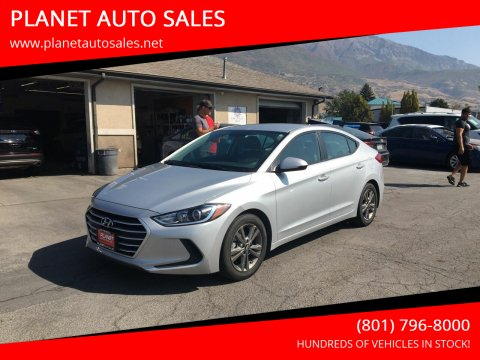 2018 Hyundai Elantra for sale at PLANET AUTO SALES in Lindon UT