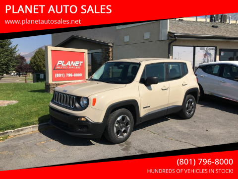 2016 Jeep Renegade for sale at PLANET AUTO SALES in Lindon UT