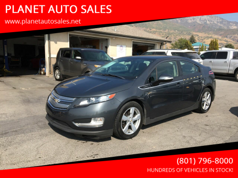 2011 Chevrolet Volt for sale at PLANET AUTO SALES in Lindon UT