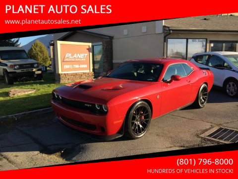 2015 Dodge Challenger for sale at PLANET AUTO SALES in Lindon UT