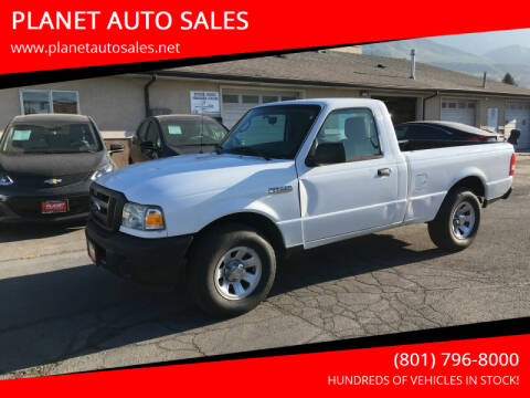 2011 Ford Ranger for sale at PLANET AUTO SALES in Lindon UT