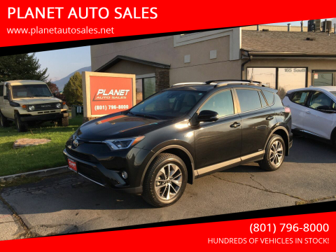 2017 Toyota RAV4 Hybrid for sale at PLANET AUTO SALES in Lindon UT