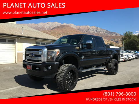2015 Ford F-350 Super Duty for sale at PLANET AUTO SALES in Lindon UT