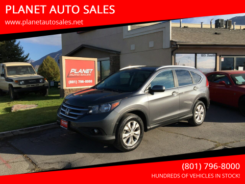 2014 Honda CR-V for sale at PLANET AUTO SALES in Lindon UT