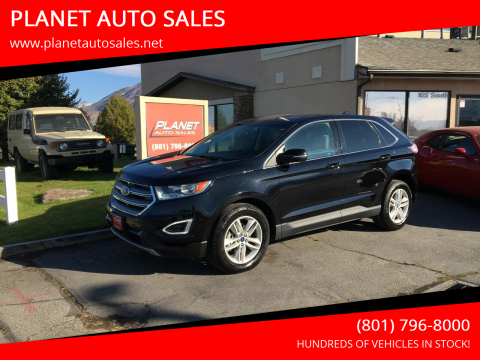 2017 Ford Edge for sale at PLANET AUTO SALES in Lindon UT