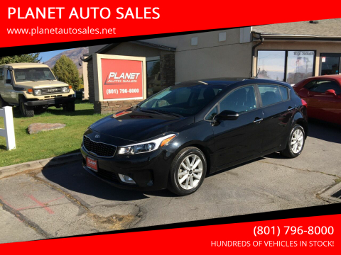 2017 Kia Forte5 for sale at PLANET AUTO SALES in Lindon UT