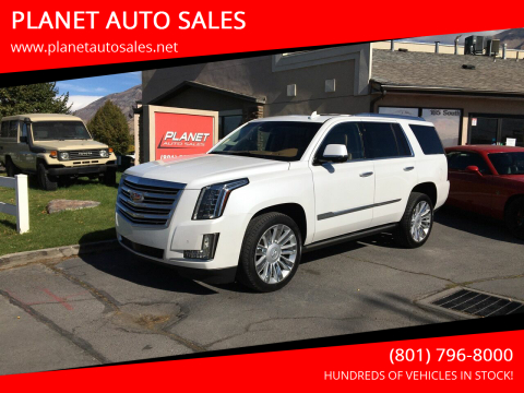 2016 Cadillac Escalade for sale at PLANET AUTO SALES in Lindon UT