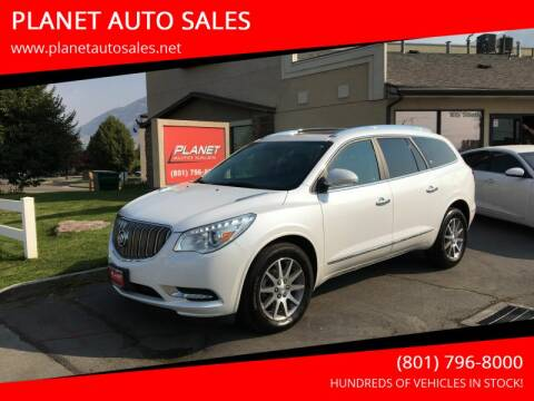 2017 Buick Enclave for sale at PLANET AUTO SALES in Lindon UT