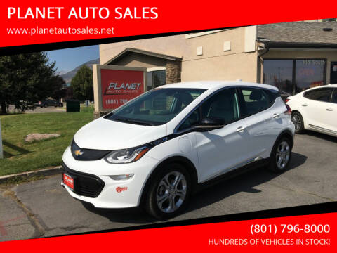 2019 Chevrolet Bolt EV for sale at PLANET AUTO SALES in Lindon UT