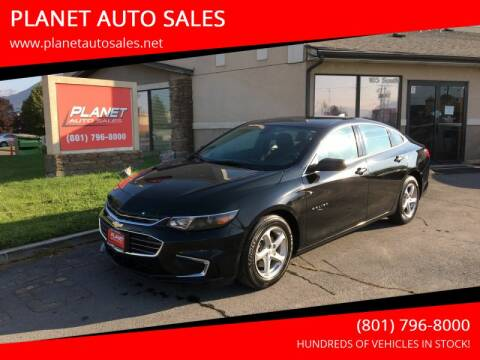 2017 Chevrolet Malibu for sale at PLANET AUTO SALES in Lindon UT