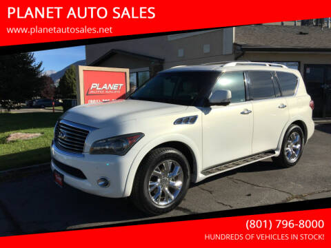 2012 Infiniti QX56 for sale at PLANET AUTO SALES in Lindon UT