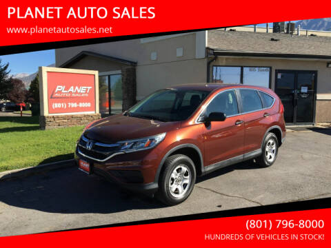2015 Honda CR-V for sale at PLANET AUTO SALES in Lindon UT