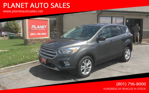2017 Ford Escape for sale at PLANET AUTO SALES in Lindon UT