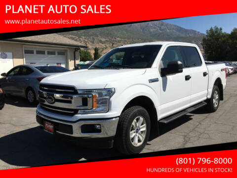 2018 Ford F-150 for sale at PLANET AUTO SALES in Lindon UT