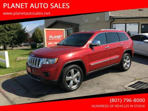 2011 Jeep Grand Cherokee for sale at PLANET AUTO SALES in Lindon UT