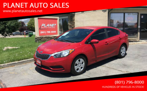 2016 Kia Forte for sale at PLANET AUTO SALES in Lindon UT