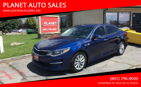 2018 Kia Optima for sale at PLANET AUTO SALES in Lindon UT