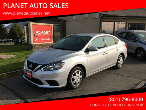 2018 Nissan Sentra for sale at PLANET AUTO SALES in Lindon UT