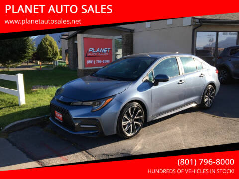 2020 Toyota Corolla for sale at PLANET AUTO SALES in Lindon UT