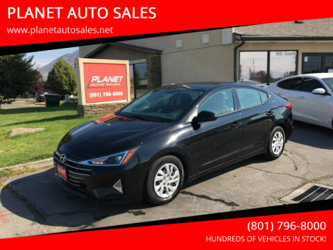 2019 Hyundai Elantra for sale at PLANET AUTO SALES in Lindon UT