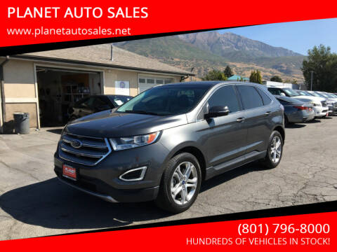 2016 Ford Edge for sale at PLANET AUTO SALES in Lindon UT