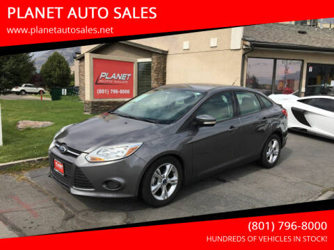 2013 Ford Focus for sale at PLANET AUTO SALES in Lindon UT