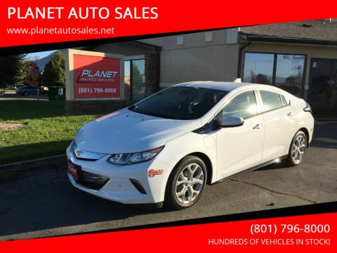 2017 Chevrolet Volt for sale at PLANET AUTO SALES in Lindon UT