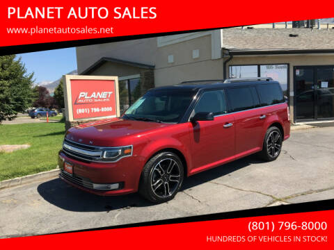 2013 Ford Flex for sale at PLANET AUTO SALES in Lindon UT