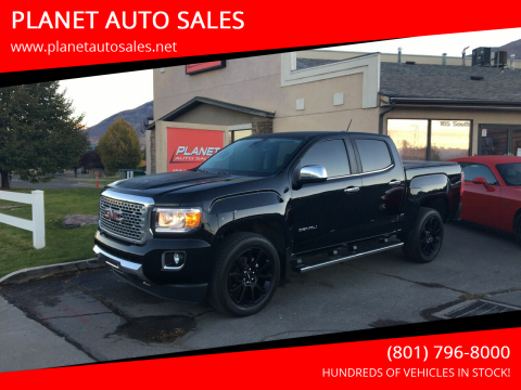 2017 GMC Canyon for sale at PLANET AUTO SALES in Lindon UT