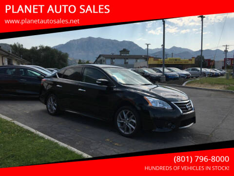 2015 Nissan Sentra for sale at PLANET AUTO SALES in Lindon UT
