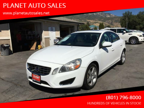 2012 Volvo S60 for sale at PLANET AUTO SALES in Lindon UT