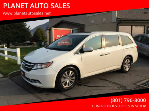 2016 Honda Odyssey for sale at PLANET AUTO SALES in Lindon UT