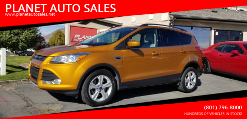 2016 Ford Escape for sale at PLANET AUTO SALES in Lindon UT