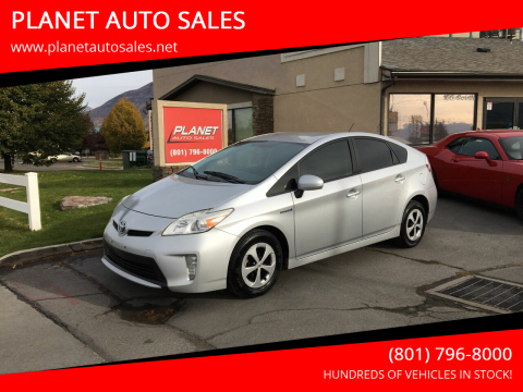 2012 Toyota Prius for sale at PLANET AUTO SALES in Lindon UT